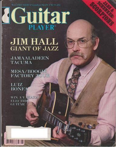 Guitar Player Magazine (May 1983) Jim Hall Scorpions