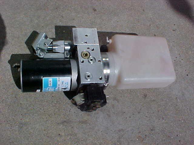 12 volt dc electric hydraulic pump w reservoir auxillary for 12 volt hydraulic pump motor