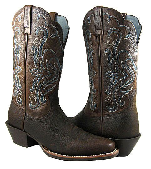 6aeae21c0c9 New Ariat Womens Legend Brown Oiled Rowdy Cowboy Boots Shoes US SIZES