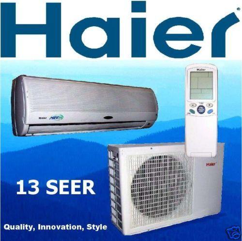 Haier 2 Ton Mini Split Air Conditioner Heat Pump A/C
