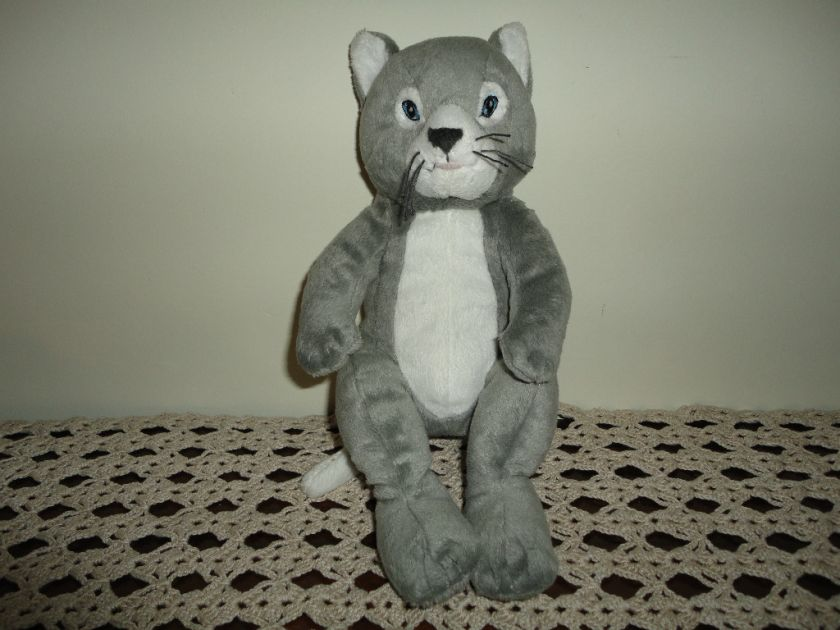 Ikea Sweden Gosig Katt / Cat Stuffed Plush Retired RARE