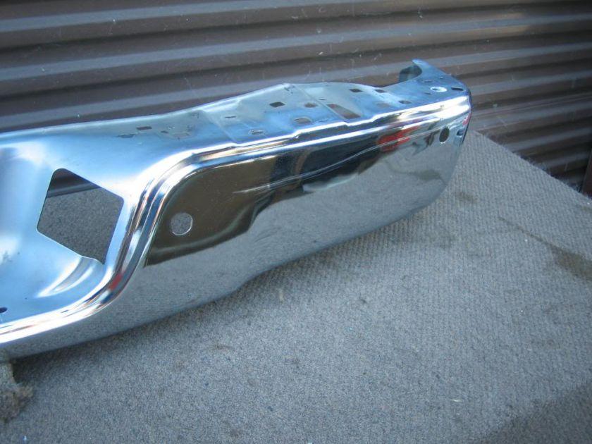 toyota tundra pickup rear chrome bumper oem 2007 2008 2009 2010. Black Bedroom Furniture Sets. Home Design Ideas